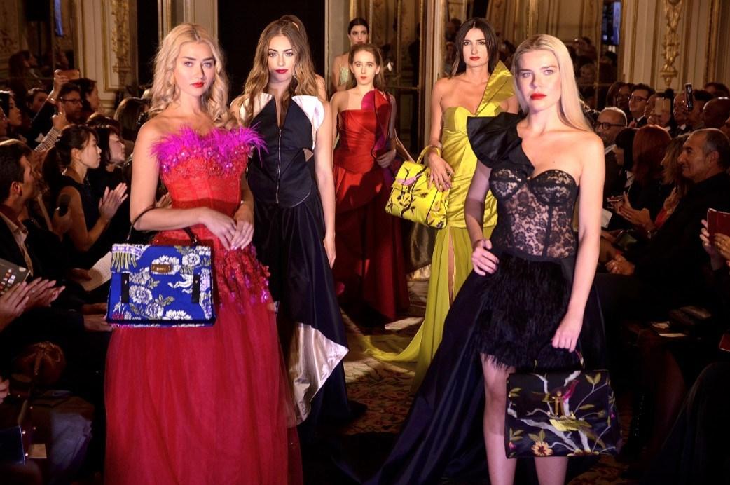 International Fashion Summit At Paris Fashion Show Sommet Internationnal De La Mode